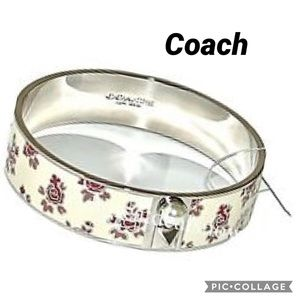 Coach Prairie Floral Bangle